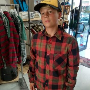 Camisa Bolt Chuck Flannel